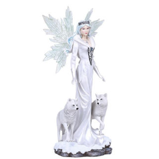 Fairy with Wolves Sculpture 21.5