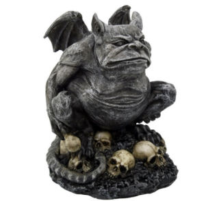 Toad Gargoyle Sculpture