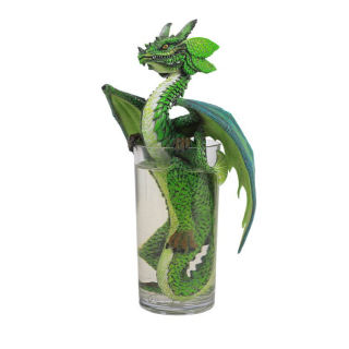 Mojito Cocktail Dragon Sculpture