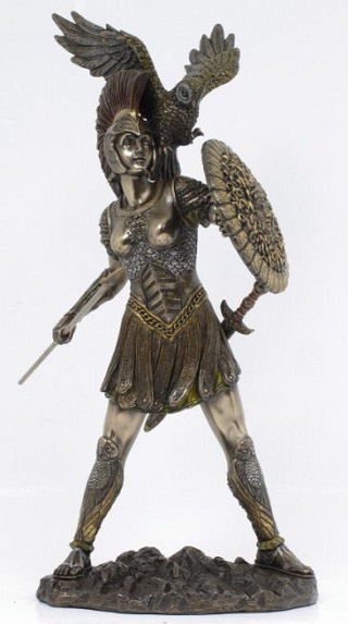 Athena Sculpture 12