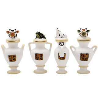 Yuya Vases Reproductions Canopic Jar Set