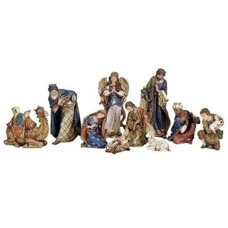 Full Nativity Set Statuary