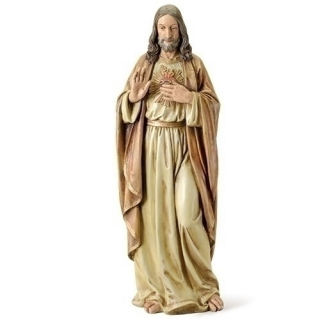 Sacred Heart Of Jesus Sculpture 37.5