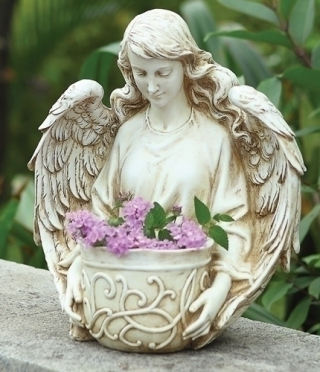 Angel Memorial Garden Planter