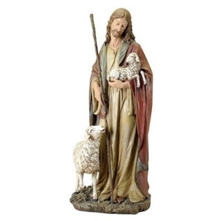 Christ The Good Shepherd Statue 36.5