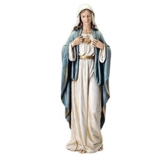 Immaculate Heart Of Mary Statue 37