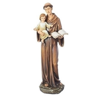 Saint Anthony and Child Classic Figure Statue