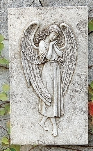 Angel Relief Wall Plaque 16