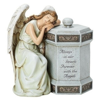 Angel Memorial Box Sculpture