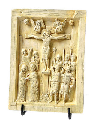 Byzantine Crucifixion Tablet Relief