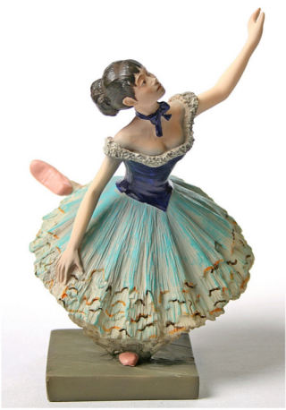 Ballet Dancer Statue By Degas