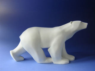 Polar Bear Grande by Sculptor Pompon