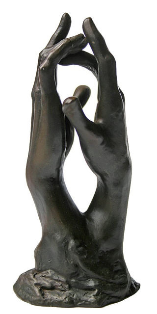 Study For The Secret Clasping Hands Statue