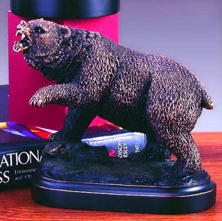 Bear Grizzly Statue Sculpture 5