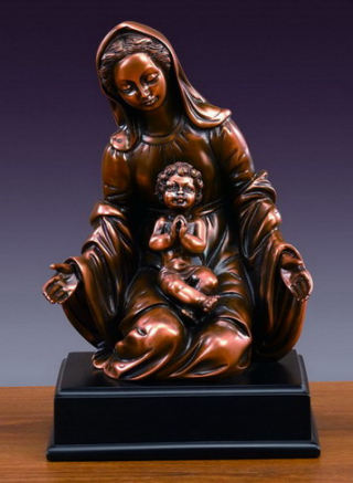 Mary &  Baby Jesus Figurine