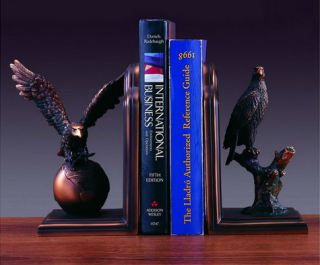 Eagle Bookends Sculptures 8