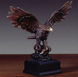 Eagle Award Sculpture 7.5