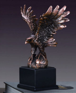 Eagle Sculpture 9.5