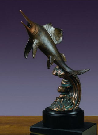 Swordfish Sculpture 13.5
