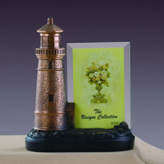 Lighthouse Photo Picture Frame Sculpture