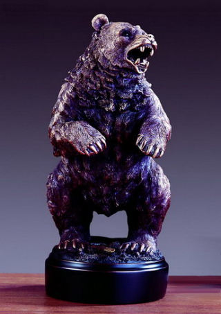 Standing Bear Sculpture 13.5