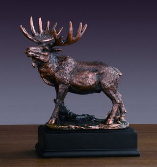 Moose Sculpture 8