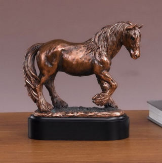Tinker Mare Horse Sculpture