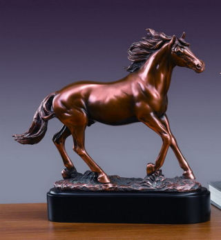 Stallion Horse Sculpture 12.5