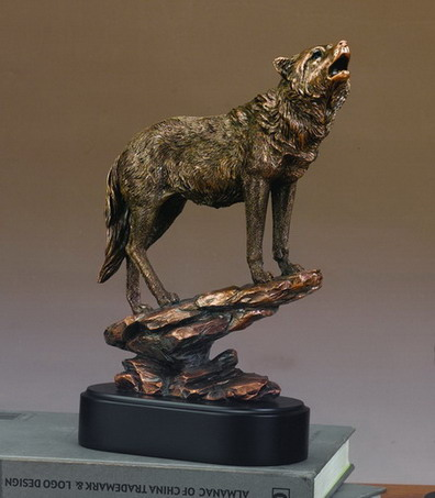 Wolf Of Rocks Sculpture 12