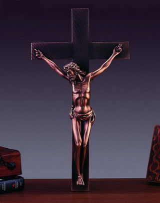 Jesus On Cross Sculpture 18