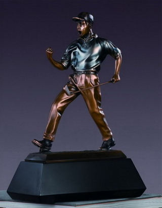 Golf Winner Sculpture 12