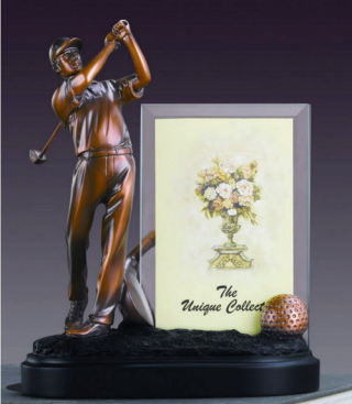 Golf Picture Frame Photo Sculpture