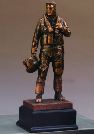 Airforce Military Man Sculpture 11.5