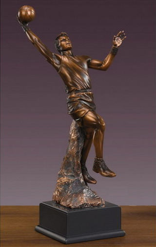 Basketball Player Sculpture 18.5