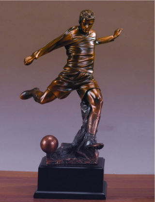 Soccer Player Sculpture 14.5
