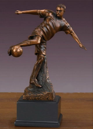Soccer Player Sculpture 10