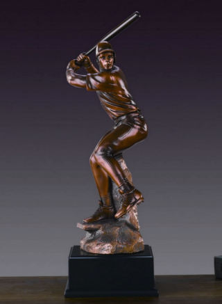 Baseball Batter Player Sculpture 16