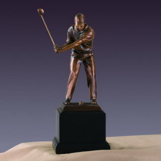 Golfer Award Sculpture 9.5