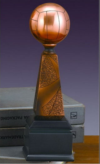 Volleyball Trophy Sculpture