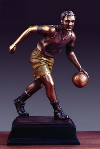 Basketball Player Sculpture 13