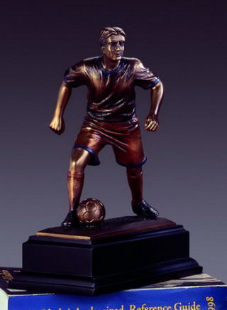Soccer Player Sculpture  9.5