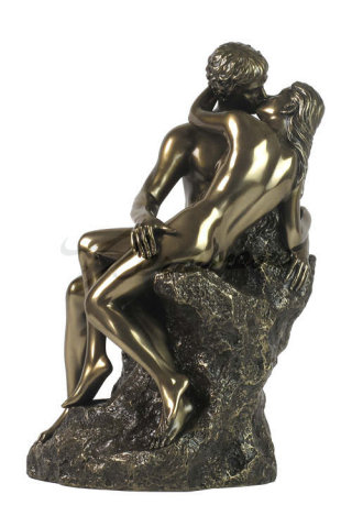 Kiss by Rodin Sculpture 9.5