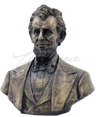 Abraham Lincoln Bust Large Sculpture