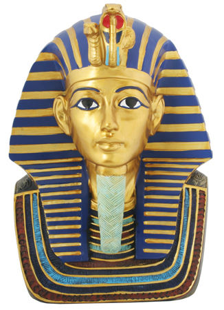 King Tut Boy King Sculptural Bust 9