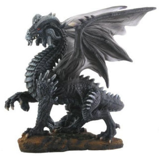 Dark Dragon Defendere Sculpture