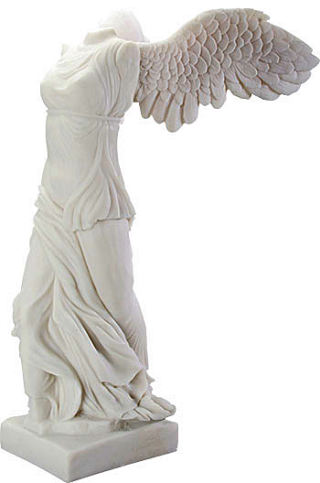 Winged Victory of Samothrace Sculpture 26