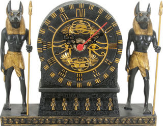 Anubis Sculptural Clock