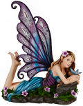 Grand Fairy Daydreaming Sculpture