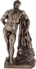 Farnese Hercules Statue Large Bronze Finish
