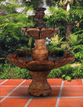 Finial Fountain Inspired by European Designs